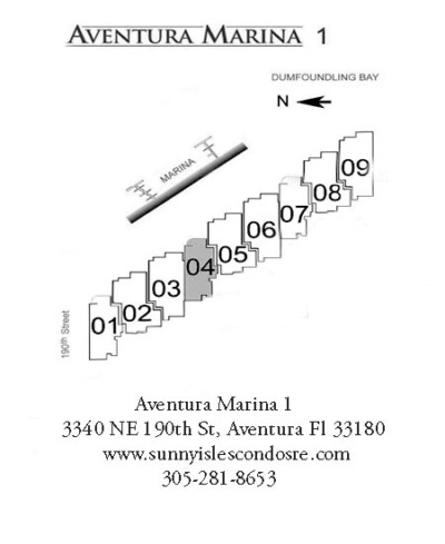 aventura marina one floor plans