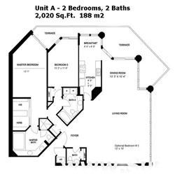 Oceania II Floor Plans A