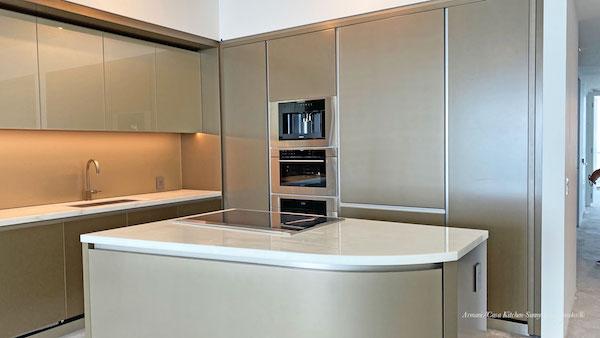 Armani Casa kitchen