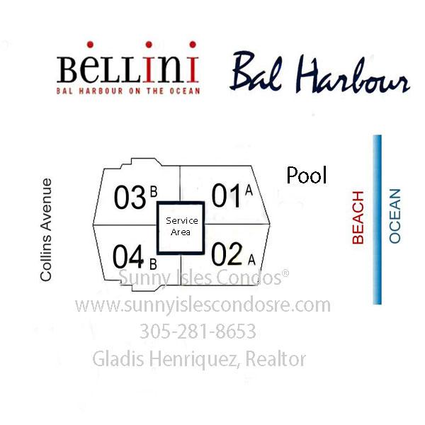 bellini bal harbor floor plans