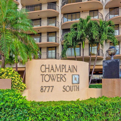 champlain towers south condo complex