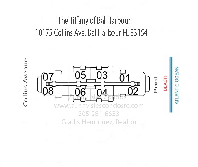 Tiffany at bal harbour floor plans