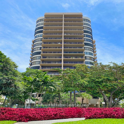 The Tiffany bal harbour residential building