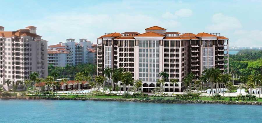 Palazzo Del Sol - new developments at Fisher Island