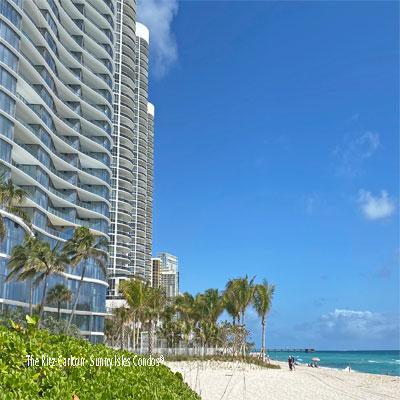 the ritz carlton condominium complex sunny isles beach