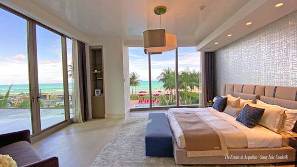Estates at Acqualina bedroom