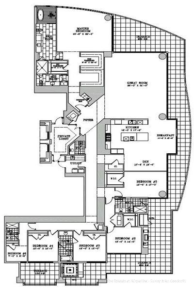 the estates at acqualina floor plans