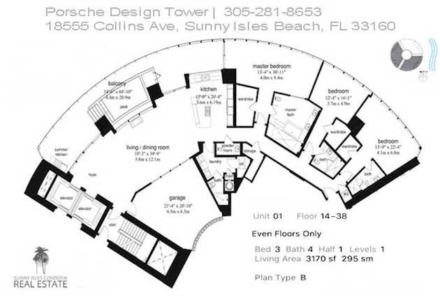 porsche 01 line floor plan
