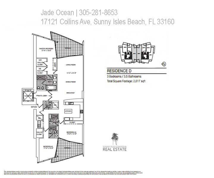 jade ocean floor plan D
