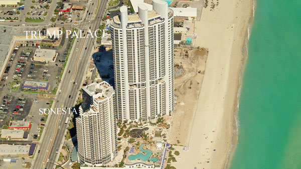 trump palace aerial view