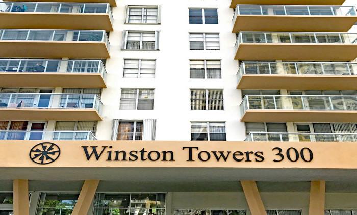 Winston Towers 300 condo complex