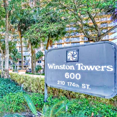 Winston towers 600 residential building