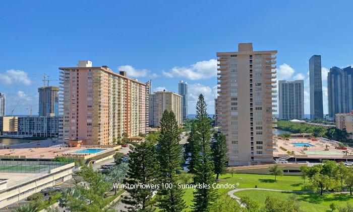 Winston towers 100 condo complex