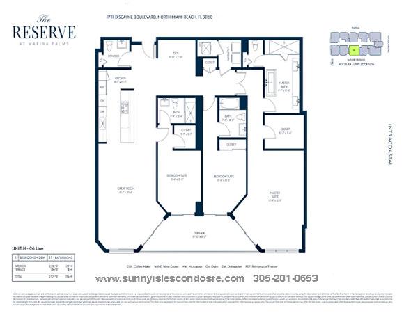 line 06 marina palms floor plans