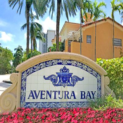 aventura bay residential complex