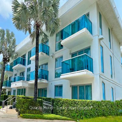 quarzo hotel residential building