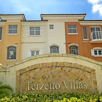 terzetto villas residential complex