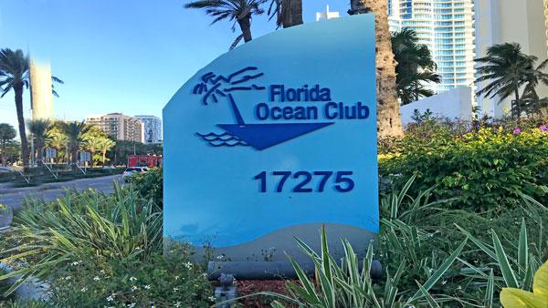 Florida Ocean Condo complex