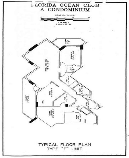florida ocean floor plan