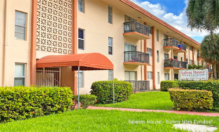 Salem house condominium complex