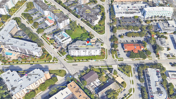 Towne Royale aerial view