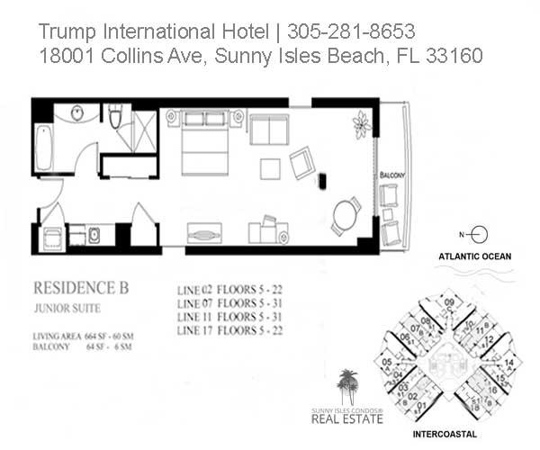 trump beach resort junior suite