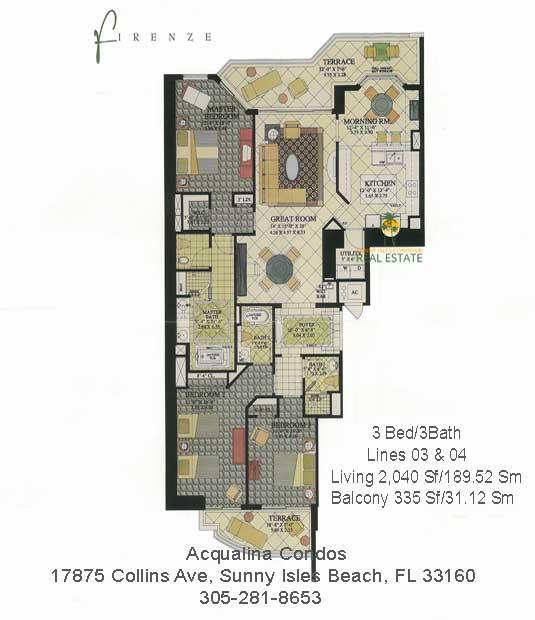 Firenze floor plan