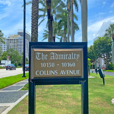 the admiralty condominium complex