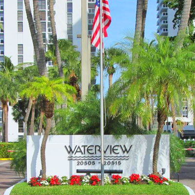 water view apartment building