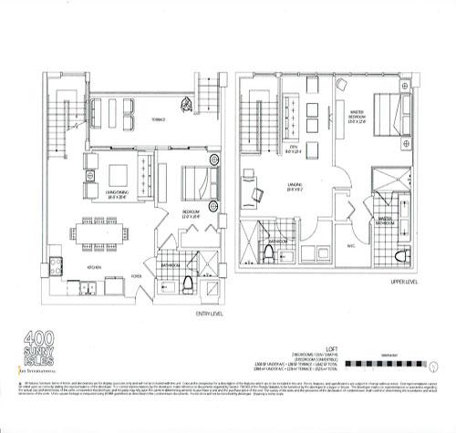 400 sunny isles floor plan