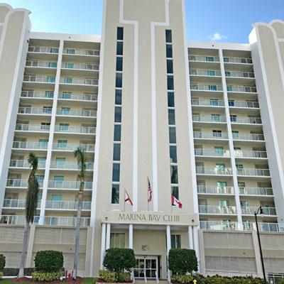 marina bay apartment building