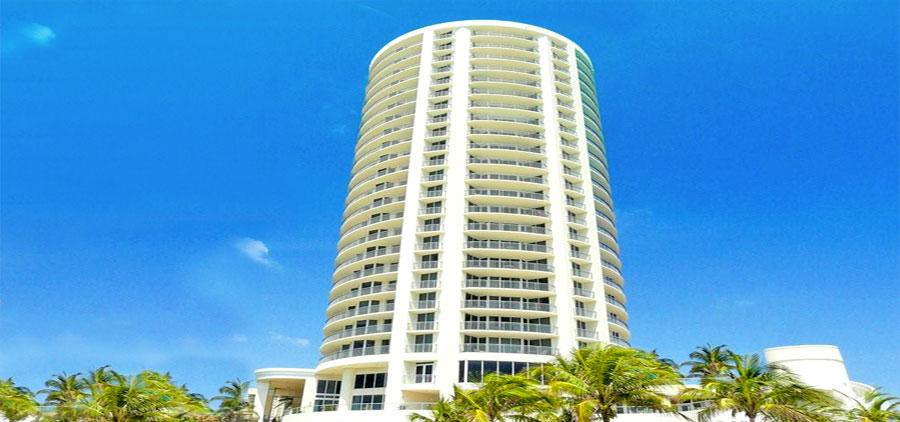ocean pointe apartment building