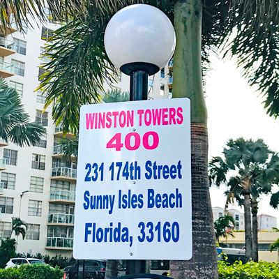 Winston towers 400 apartment complex