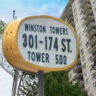 Winston towers 500 apartment complex