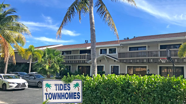 tides townhomes residential complex