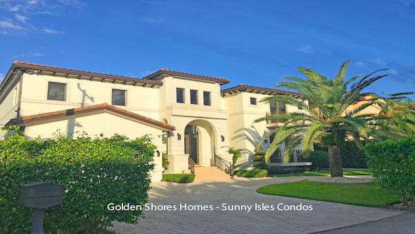golden shores homes sunny isles beach