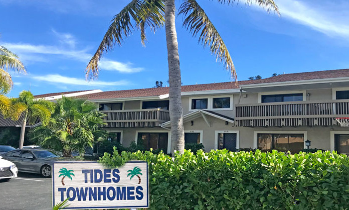 tides townhomes residential building