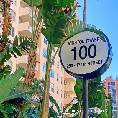 Winston towers 100 apartment complex