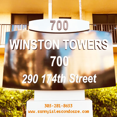 Winston towers 700 residential building