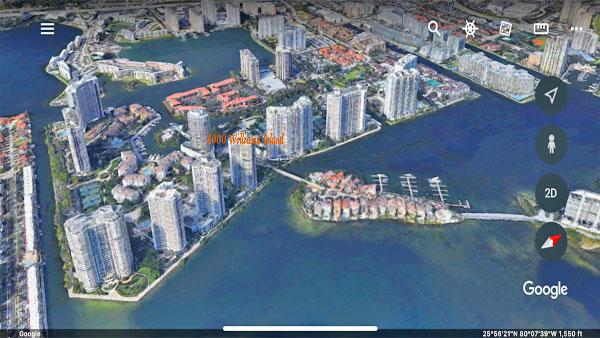 4000 williams island aerial view