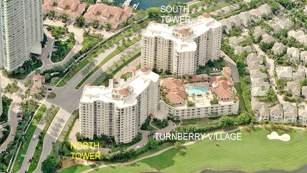 turnberry village south aerial view