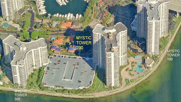 Mystic Pointe 200 aerial view