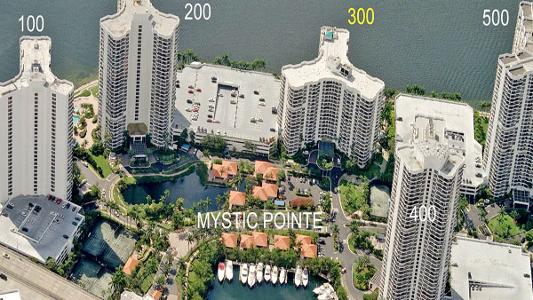 mystic pointe 300 tower complex