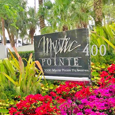 mystic pointe tower 400 condo complex