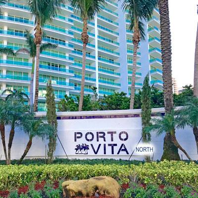 porto vita north tower condominium complex