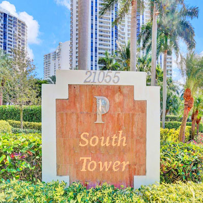 South Tower at the Point tower complex