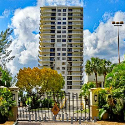 the clipper at biscayne cove condominium complex