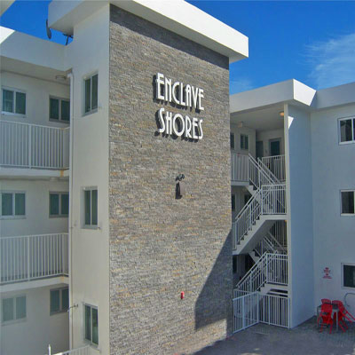 enclave shores eastern shores condo complex