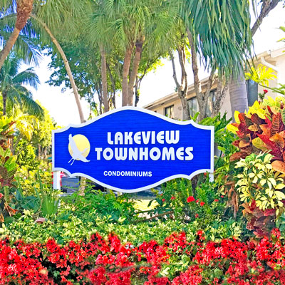 Lakeview Townhouses eastern shores condo complex