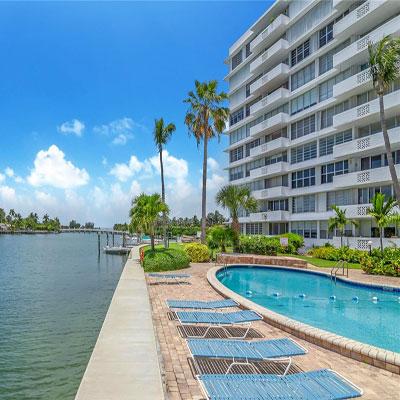 the mediterranean bay harbor condominium complex